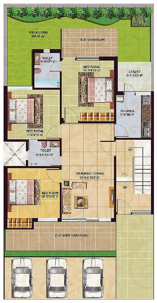Swarnaprastha floor plans omaxe city sonepat an for Hardwood floors 1500 square feet
