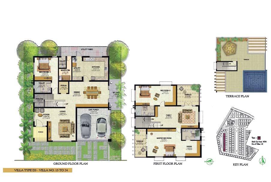 delightful villa floor plans india #2: Best Villa Floor Plans India Photos - Flooring u0026 Area Rugs Home .