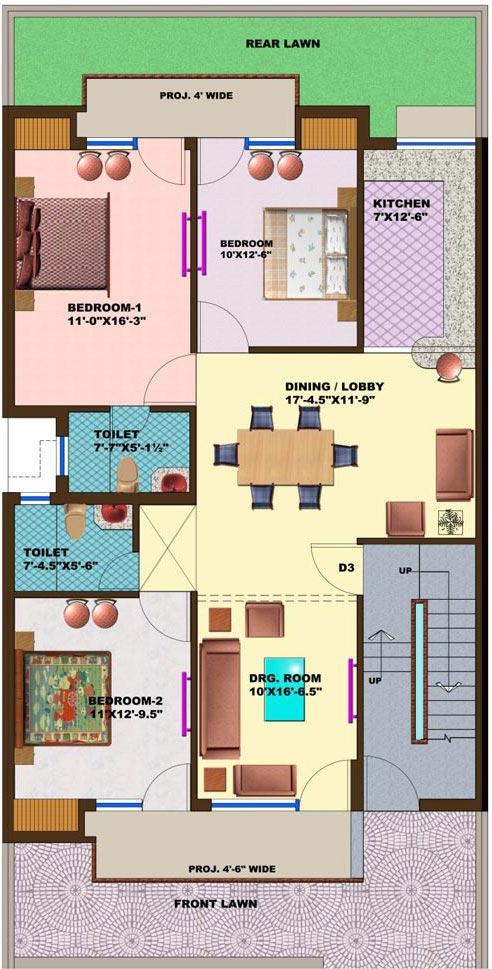 Floor Plans Omaxe Green Meadow CityOmaxe Green Meadow City Bhiwadi