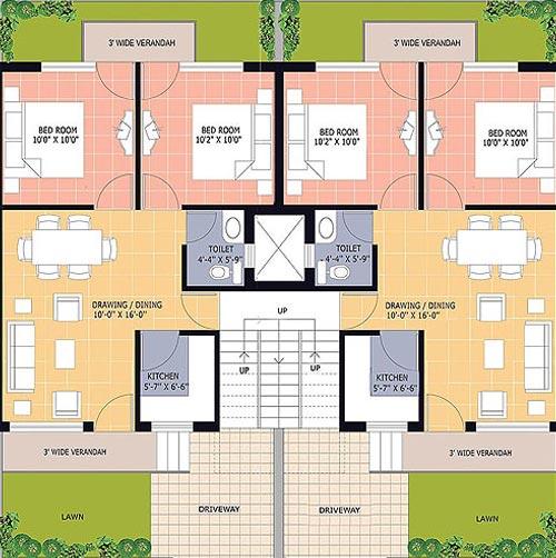 700 sq ft house plans india - House decor