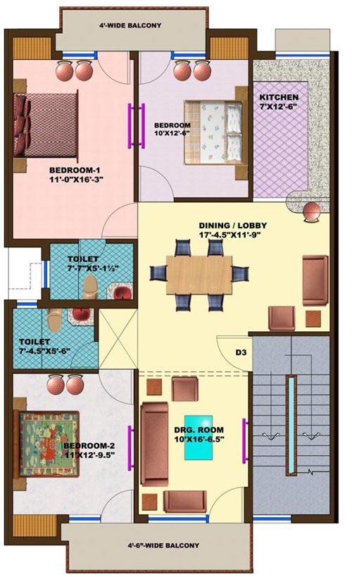 4bhk joy studio design gallery photo for 200 yards house design