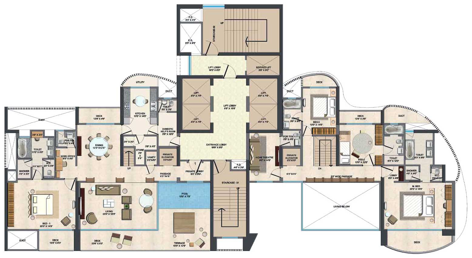 Image Result For Bedroom House Plan Nza