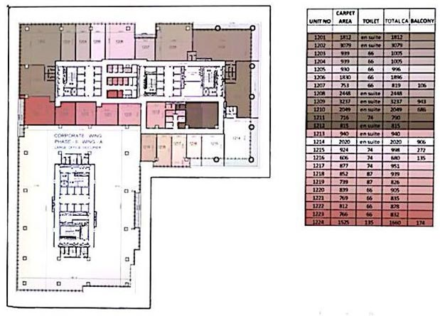 floor plan modern premium office space mumbai commercial