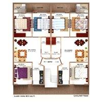 Darpan Floors 3 BHK
