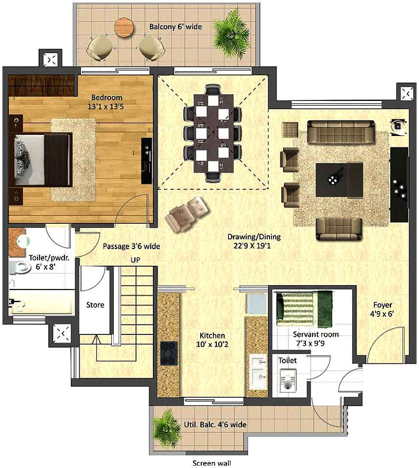 duplex apartment floor plans quotes