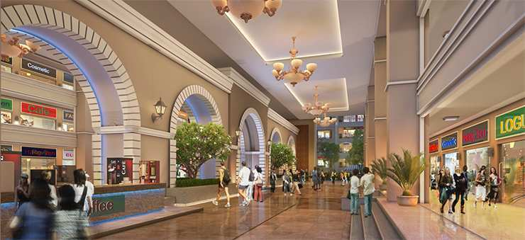 375 Sq. Feet Commercial Shops for Sale in VIP Road, Zirakpur