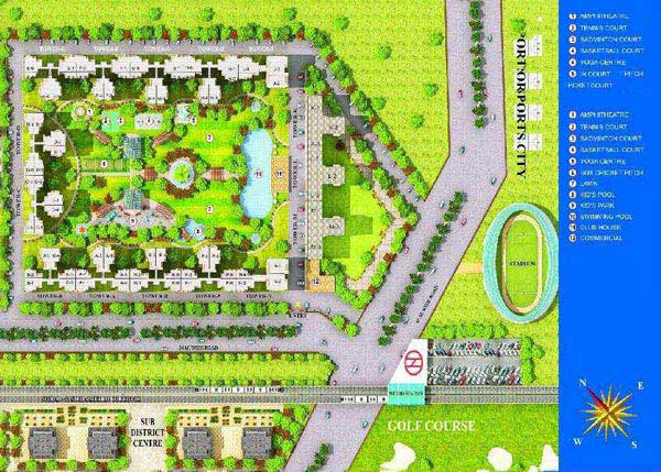 2 BHK Flats & Apartments for Sale in Sector 78, Noida