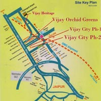 Residential Land / Plot for Sale in Ajmer Road, Jaipur