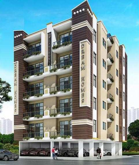 Open Kitchen Noida: 2 BHK Builder Floor For Sale In Noida Extn., Noida