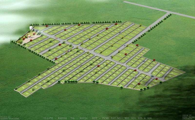 residential land plot for sale in pune
