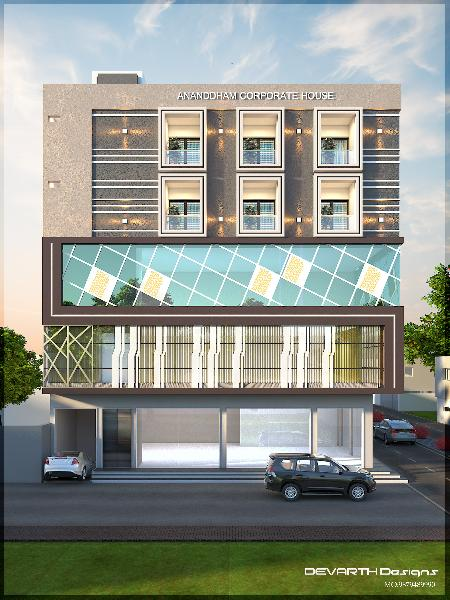1900 Sq. Feet Office Space for Rent in Botad