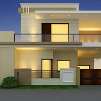 Corner 4bhk House Under Security with Less Rate