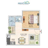 1 BHK Builder Floor for Sale in Jagatpura, Jaipur