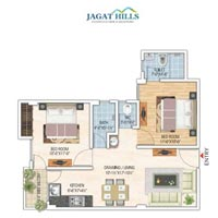 2 BHK Builder Floor for Sale in Jagatpura, Jaipur