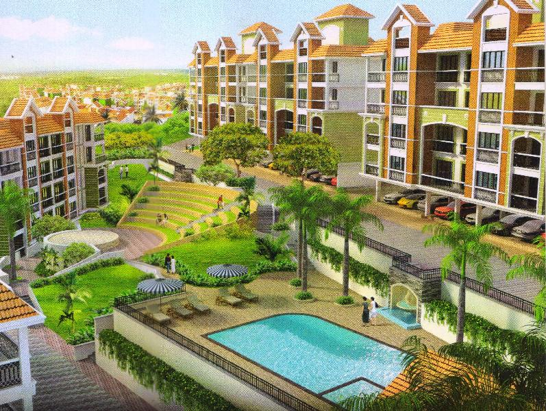 2 BHK Flats & Apartments for Sale in Alto Porvorim