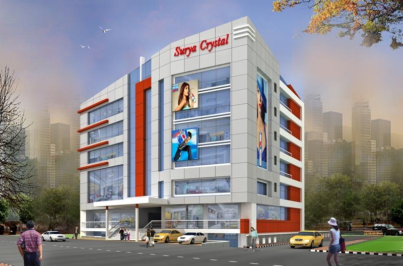 Surya Crystal - Commercial Shops in Boring Road Patna Bihar