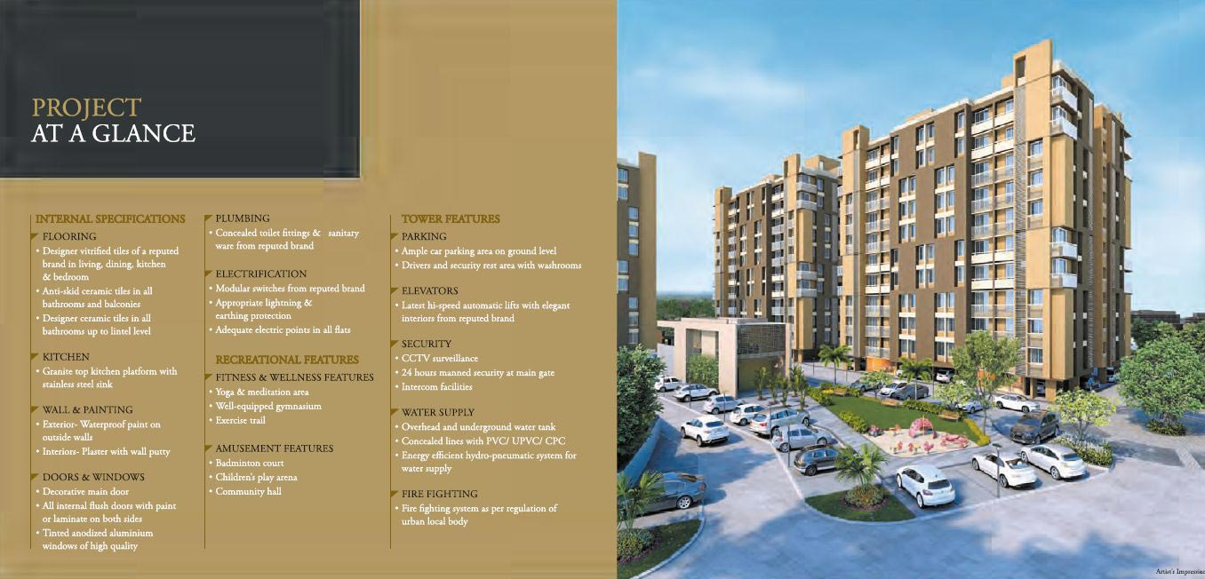 Pramukh Oracle - Flats & Appartments in Pramukh Oracle Vapi Gujarat