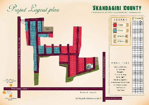Skandagiri County