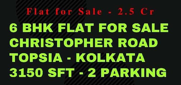 Kolkata Large 6 BHK for Sale unfurnished unused