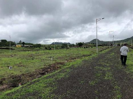 Nashik Trembakeshar highway at khambale village residential na final plot near nashik wah hotel
