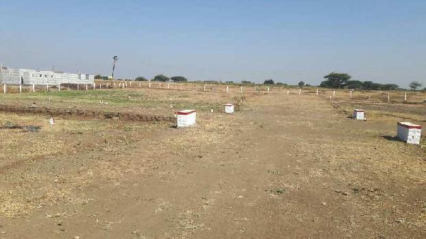 Nashik dhule highway at Ganeshgao near new nashik airport residential na final plot