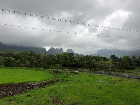 NA Bunglow plots available at very scenic location surrounded by Lake and mountains at pahine