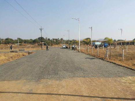 Residential NA final Plot nashik trimbak highway khambale Villegas near sandeep foundation College
