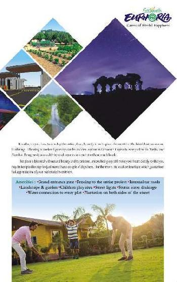 Residential Farmhouse NA plot nashik trimbak Ghoti Road Panine at Kojoli shiver