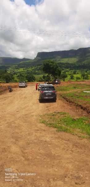 Farmhouse NA Plots nashik trimbak Ghoti Road Panine near green county project develop