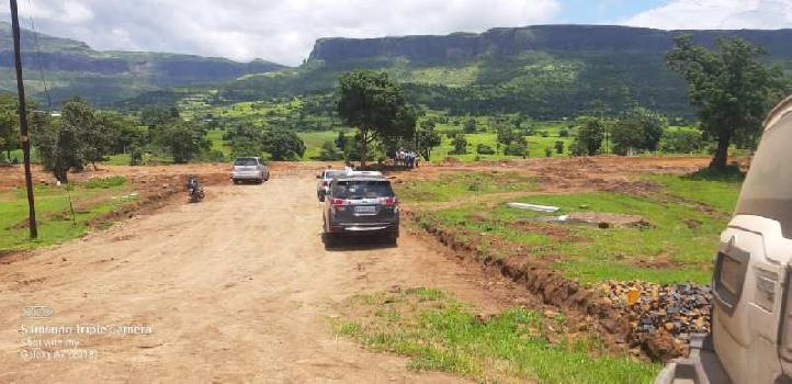 Farmhouse NA Plots trimbak highway Panine Kojuli shiver near green county project develop
