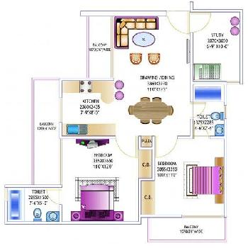 3BHK Apartment for Sale in Noida Sector-46