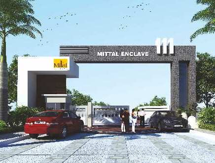 Layout Plan of Mittal Enclave