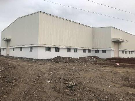1,20,000 sq ft industrial shed / warehouse for lease at Talegaon MIDC Road
