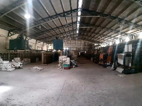 60708 sq.ft industrial land with ready factory for sale at Markal, Pune, Maharashtra
