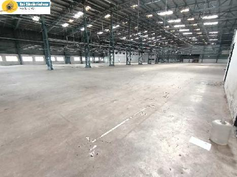 87000 sq.ft ready factory or industrial shed available for lease at Chakan MIDC, Pune