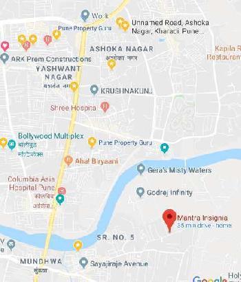 2 BHK in Keshav Nagar, Pune
