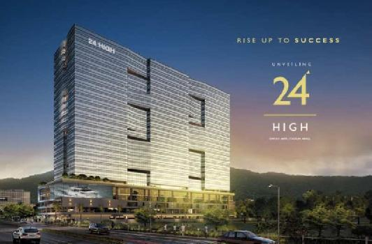 818 Sq.ft. Office Space for Sale in Nerul, Navi Mumbai