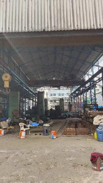 1800  SQ MTR  INDUTRIAL  SHED  FOR  RENT WITH  20  MT   CRANE, SUITABLE  FOR  ENGINEERING WORK.
