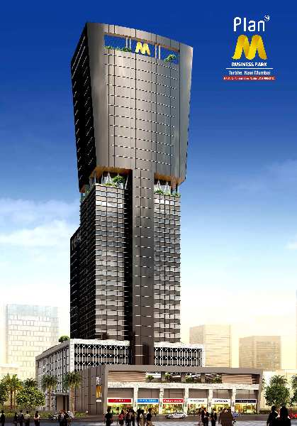 815 Sq.ft. Office Space for Sale in Turbhe, Navi Mumbai