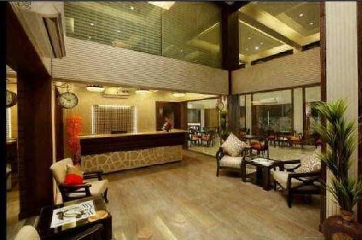 Big hotel in Goa beach resort