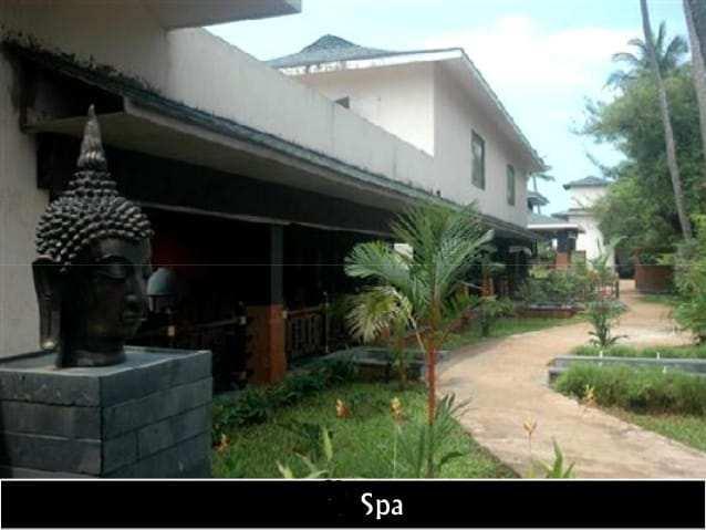 Standard five _ star resort in goa.