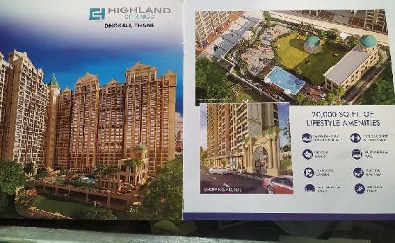 2 BHK Flat For Sale In Highland Park,Kolshet Road Thane