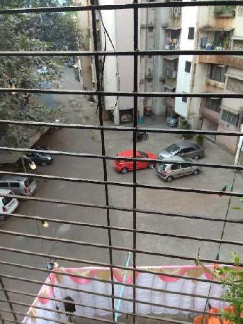 AVAILABLE SEMIFURNISHED 1 BHK FOR SALE IN RUTU PARK, THANE WEST.