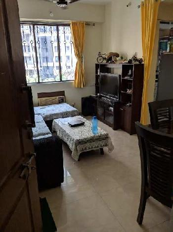 SEMIFURNISHED, WELL PAINTED 1 BHK IN LODHA PARADISE, MAJIWADA, THANE WEST FOR ₹ 74.50 LAKH ONLY.