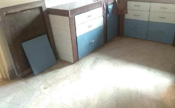 1 BHK Spacious, Semifurnished flat in 69 Lakh near Thane station West.
