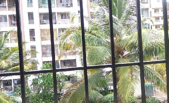 Garden facing 1 Bhk on rent in a well known complex at Manpada, Thane west.