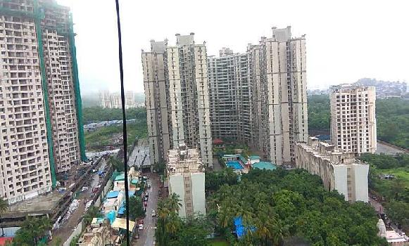 SEMIFURNISHED 2 BHK WITH ALL AMENITIES IN THANE WEST.