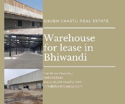 Warehouse for rent in bhiwandi 10000 sq feet to 250000 sq feet