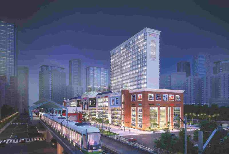 525 Sq.ft. Commercial Shops for Sale in Sector 75, Noida