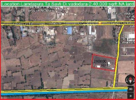 Industrial Land for Sale in Savli Town, Vadodara